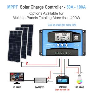 optional solar controller for power station