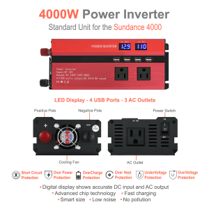 4000W power inverter features