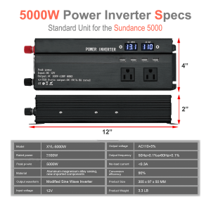 5000W power inverter specifications