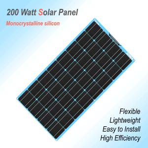 Flexible Solar Panel 200W