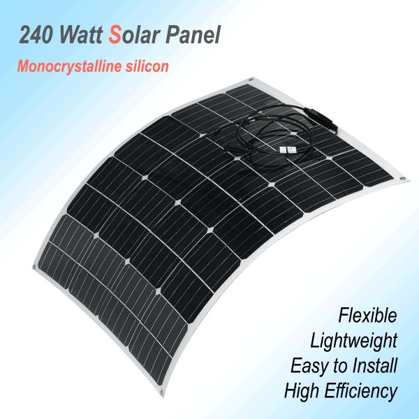 Flexible Solar Panel 240W