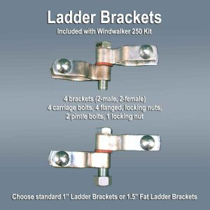 wind generator ladder brackets