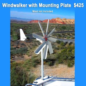 Wind Generator with Mounting Plate Price